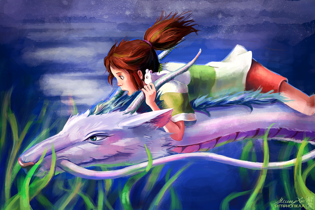 Spirited Away by astrofawn