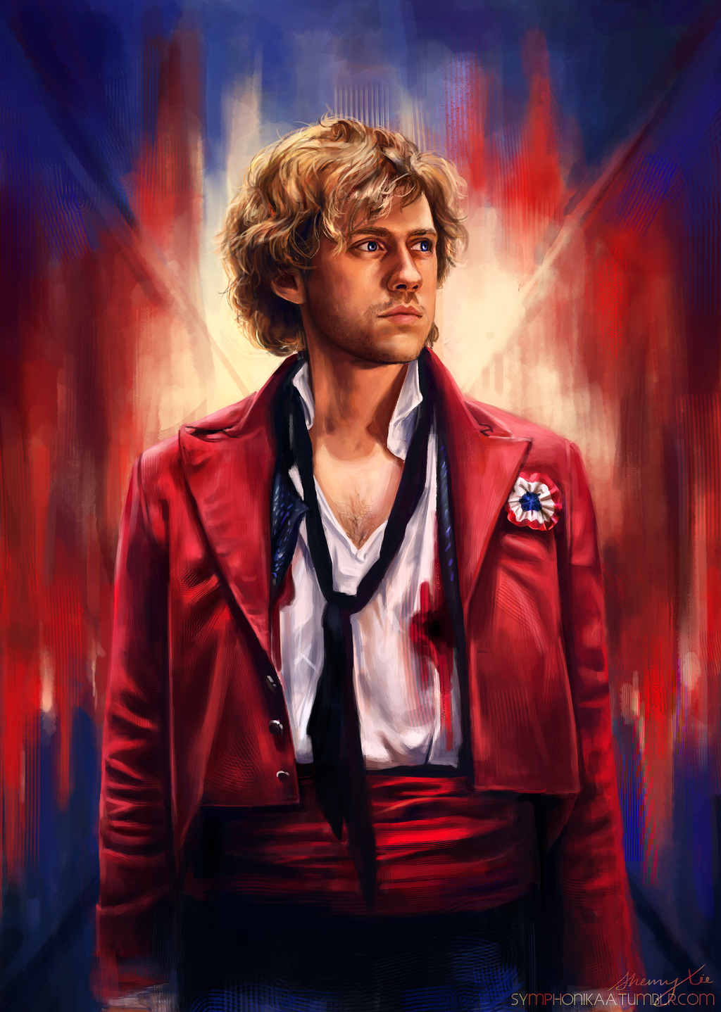 Les Miserables- Enjolras by sherryxy