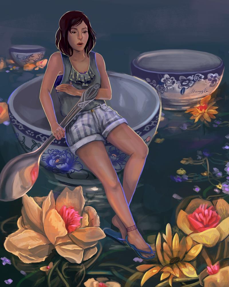 Tea by sherryxy