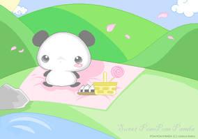 Pom Pom Panda by MagicalBunny
