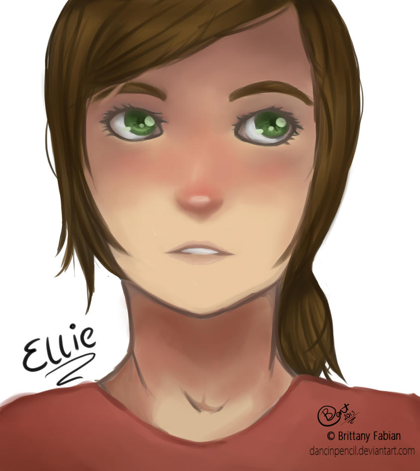 Ellie by dancinpencil
