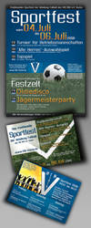 Sport event: Flyer and poster by chzzen