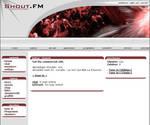 Shout.FM Layout