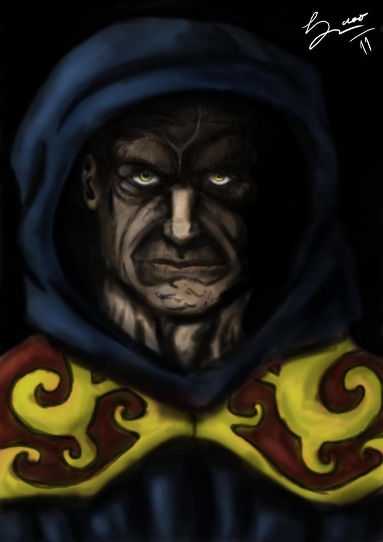 Devil Monk by RicardoOliveira on deviantART