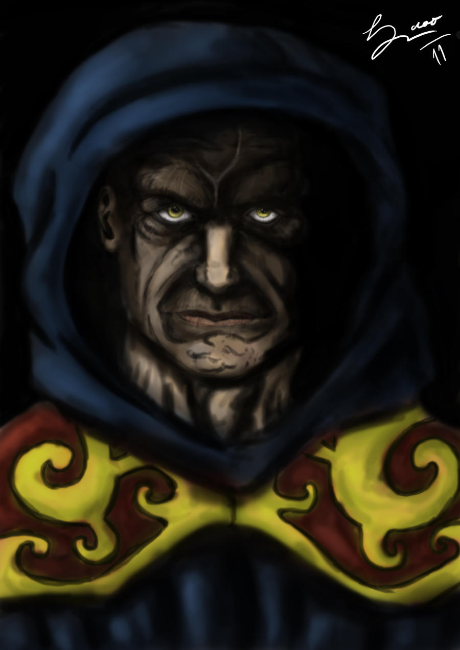 Devil Monk by RicardoOliveira on deviantART