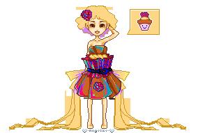 Cupcake girl by oOAngeliceOo