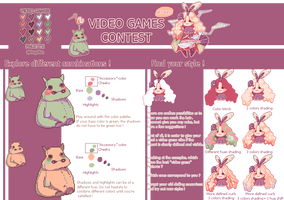 Video games contest - tips - mini tutorial