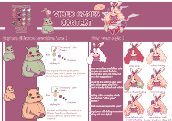 Video games contest - tips - mini tutorial by oOAngeliceOo