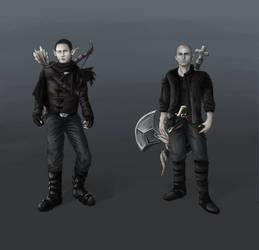 Trivium Fantasy Concept Art by kaomau