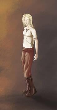 Character Concept - Niviarsiaq