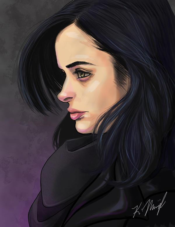 Jessica Jones by rinnyz