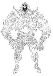 SHAOLIN GRANDMASTER KILLER  villain S.S.I.K. #4