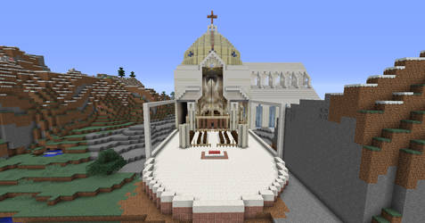 East End of Cathedral Progress