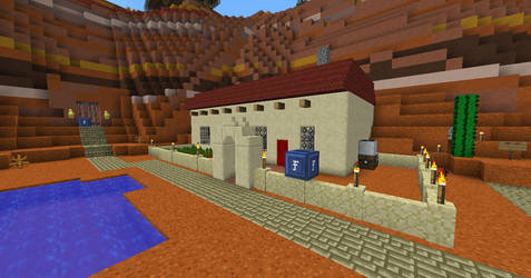 My house on the new server