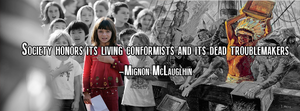 Conformists and Troublemakers by The-Angry-Anarchist