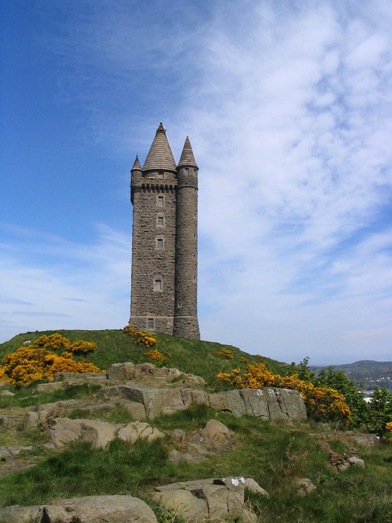 Scrabo Tower Stock by ttwm-stock