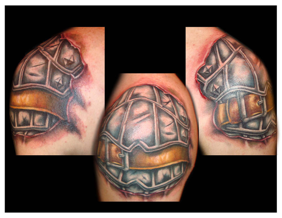 Shoulder Pauldron - shoulder tattoo