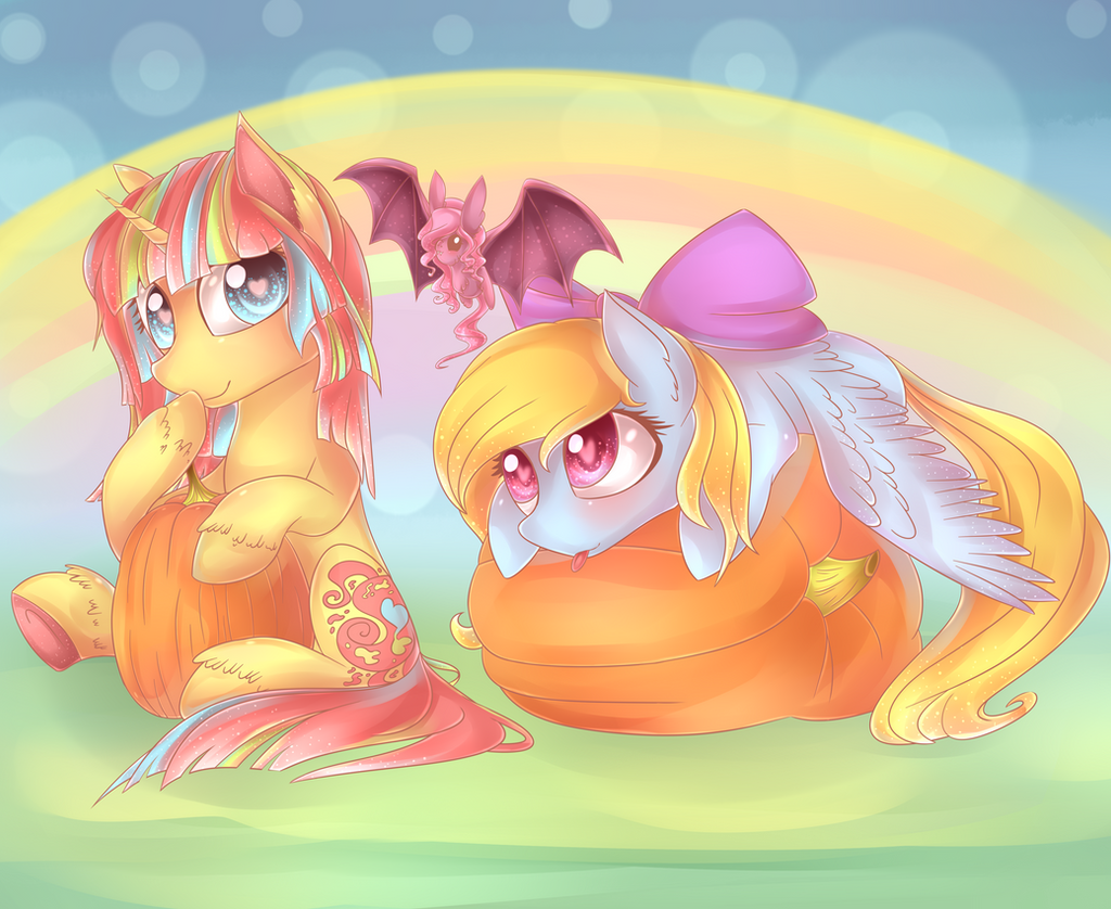 Halloween in pastel colors~ [Collab] by ShimayaEiko