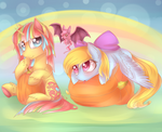 Halloween in pastel colors~ [Collab]