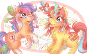 Collab with Shelby100 by ShimayaEiko