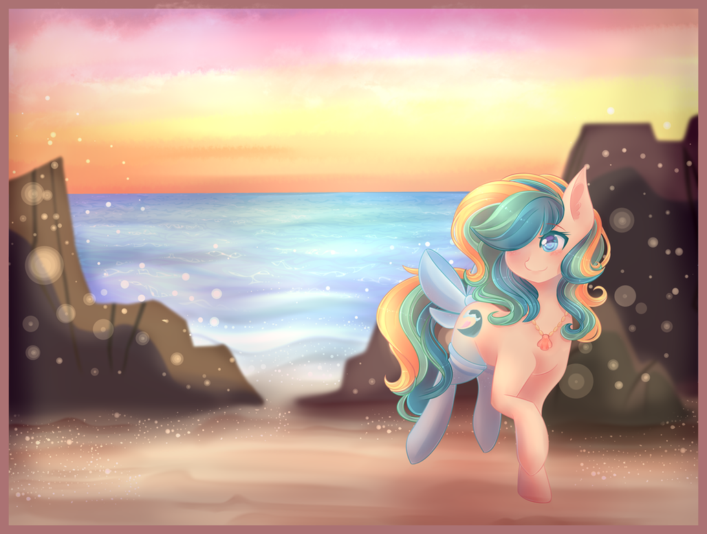 Beautiful Sunset~ [YCH Commission] by ShimayaEiko