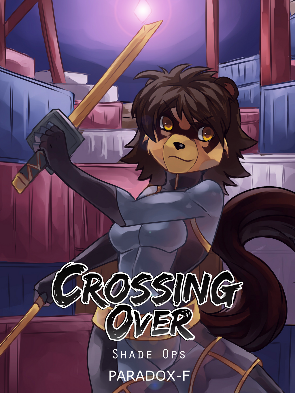 Crossing-Over: Shade Ops EA Cover by co-comic