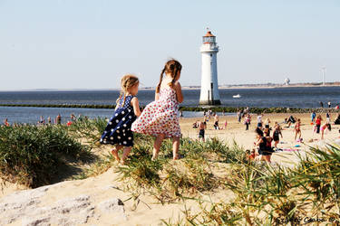 A beautiful day in New Brighton by Marksteiner