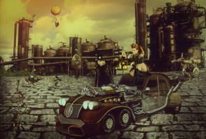 Steampunk-love-story by Mahhona