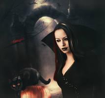 Scary night by Mahhona