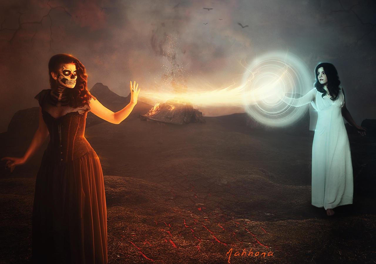 Magical-fight by Mahhona