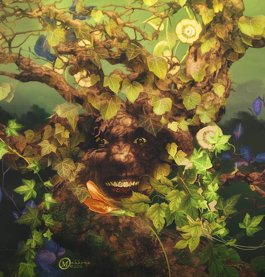 Green-man by Mahhona