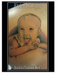 Baby Color Portrait Tattoo