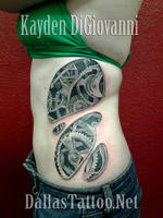 Steampunk Biomechanical Ribs