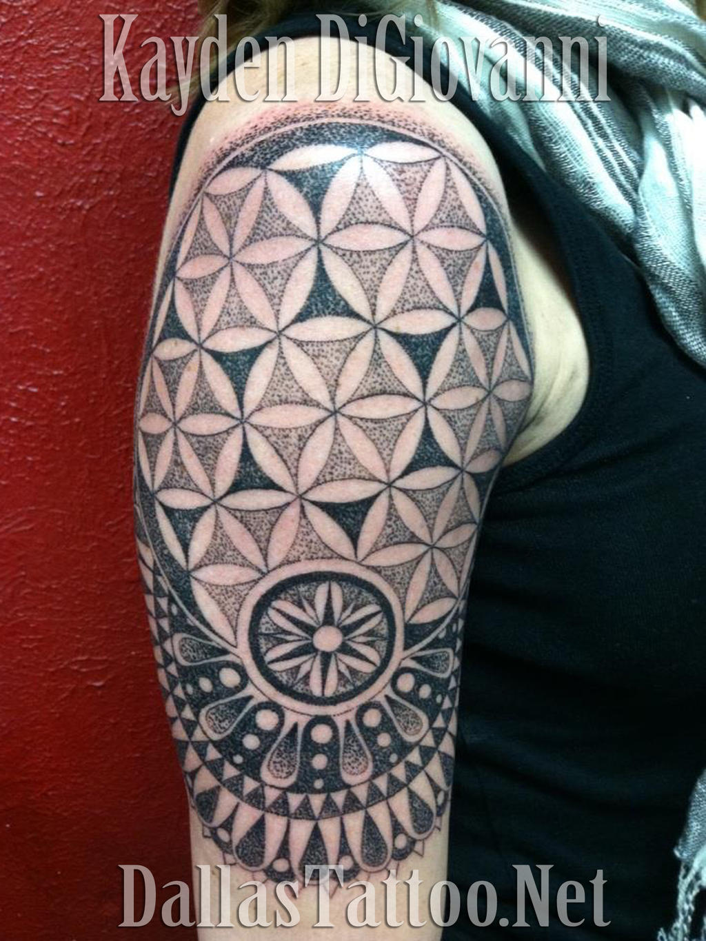 Dallas Tattoo Artist Kayden DiGiovanni Geometric by kayden7 on DeviantArt