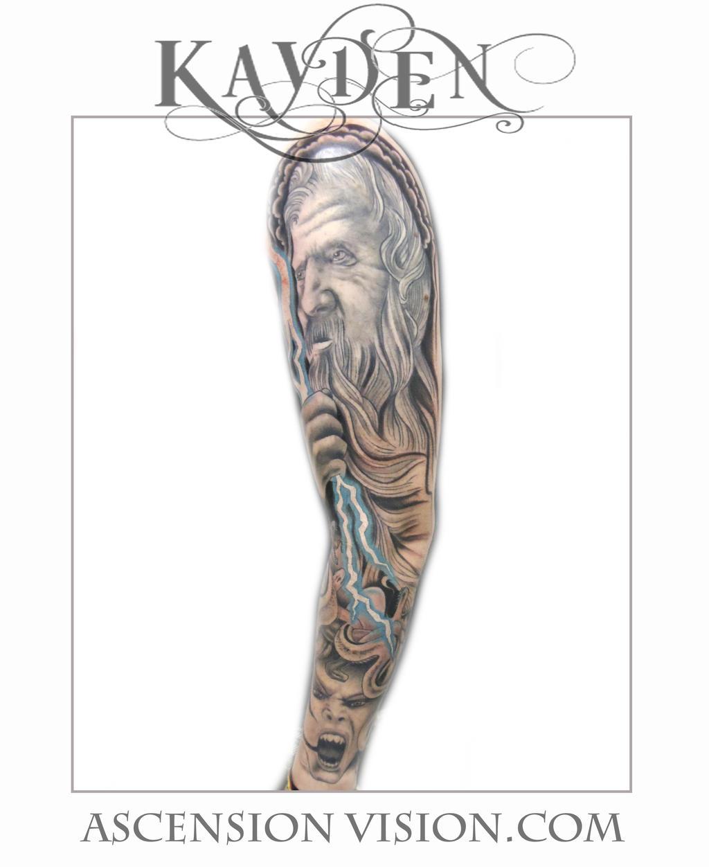 Dallas denver tattoo artist kayden digiovanni 3d p by for Tattoo artist denver
