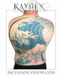 The Great Wave backpiece