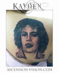 Tim Curry Frank n furter rocy horror tattoo