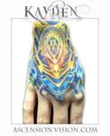 Biomechanical hand tattoo A pound of flesh