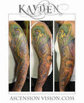 Dallas Tattoo Artist Kayden DiGiovanni biomechanic
