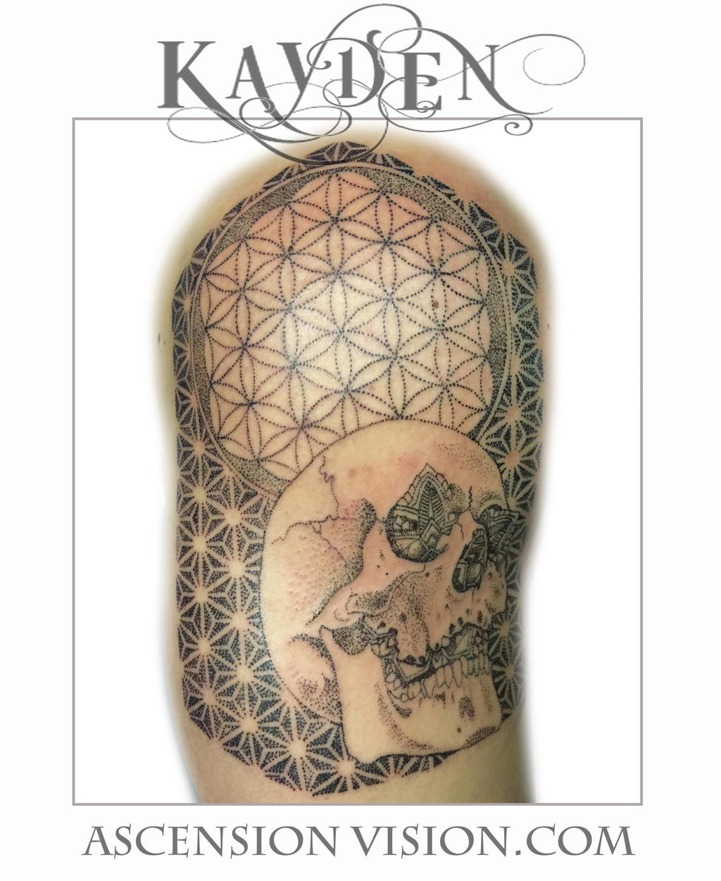 Dallas Tattoo Artist Kayden flower of life sleeve by kayden7 on DeviantArt
