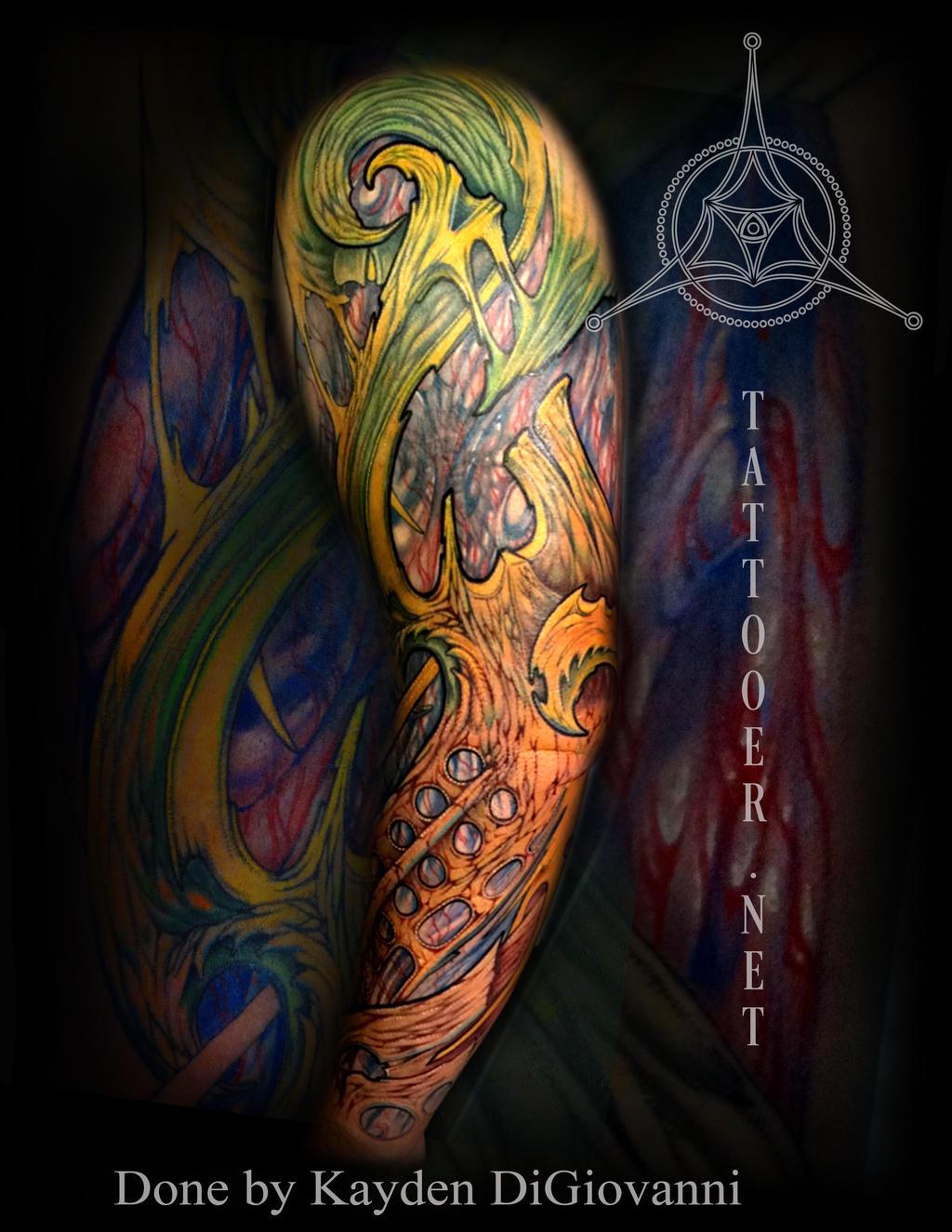Dallas denver tattoo artist biomech arm by kayden7 on for Tattoo artist denver