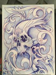 Filigree Skull
