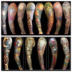 Dallas Tattoo Artist sleeves