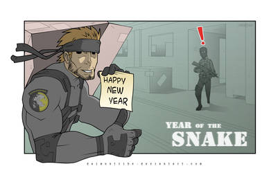 Year of the SNAKE by daimontribe