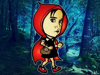 Scarlett Riding Hood by bampop