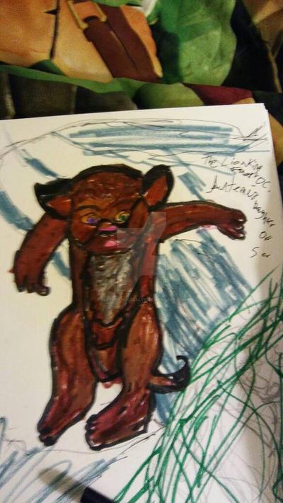 The Lion King Fan Art Oc. by SlytherinJessalyn
