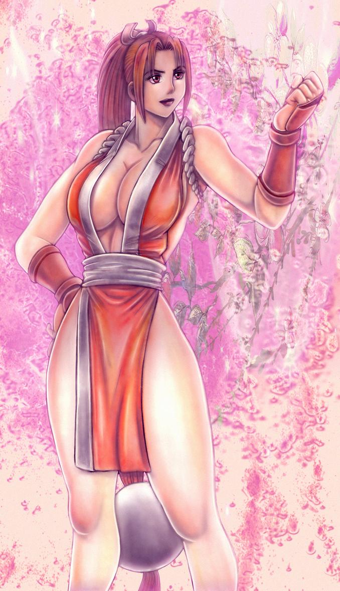 Mai Shiranui by BlackExcell