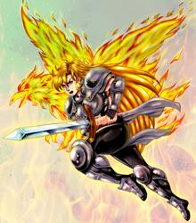 Janne -  firebird attack by BlackExcell