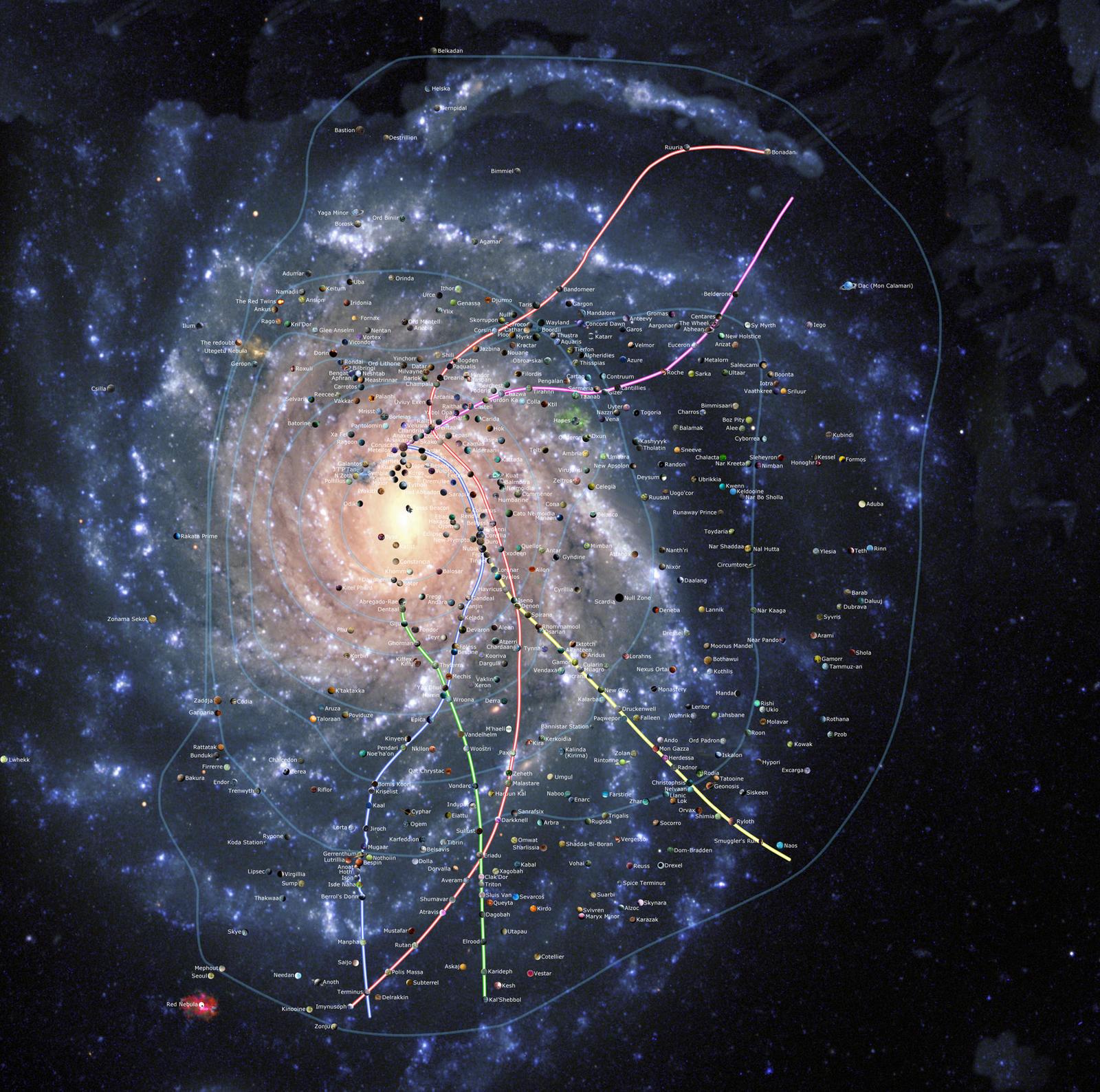 Star Wars Galaxy 54