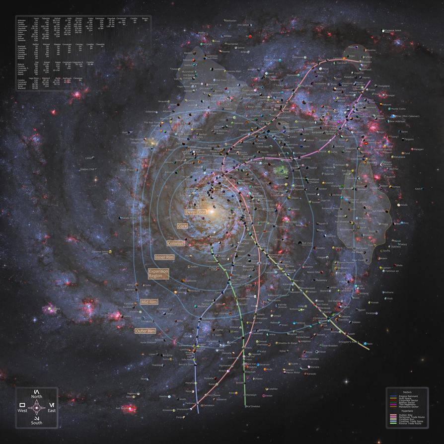 astronomy galaxy map - photo #21